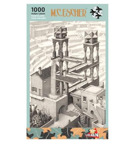 Puzzle 1000 B/N ESCHER – Cascada