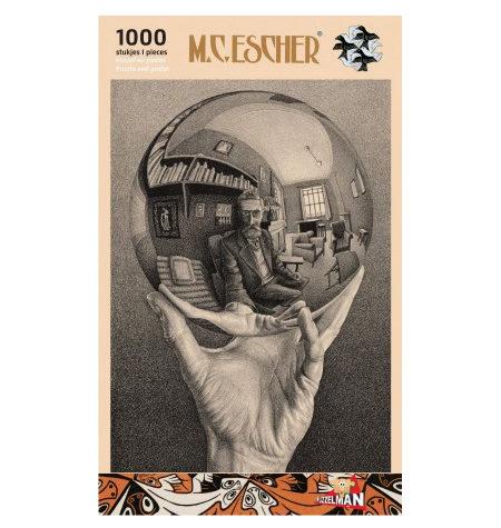 Puzzle 1000 B/N ESCHER – Mano con Esfera