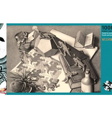 Puzzle 1000 B/N ESCHER – Repitiles