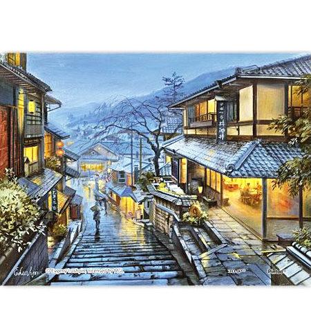 Puzzle 150 MINI – Piezas de Plástico – Old Kyoto
