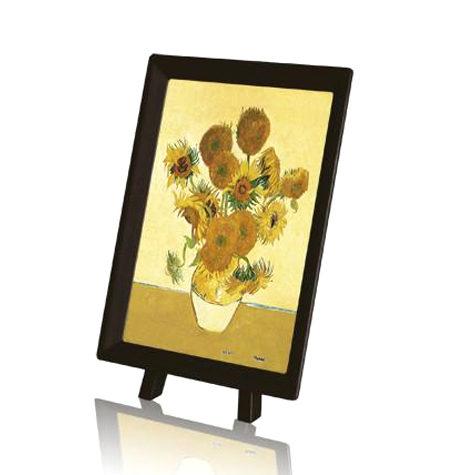 Puzzle 150 MINI – Piezas de Plástico – Los girasoles, Van Gogh