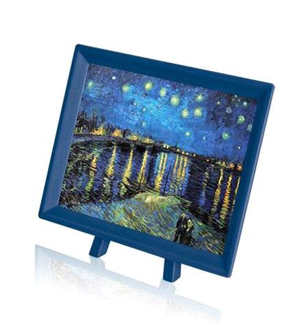 Puzzle 150 MINI – Piezas de Plástico – Noche Estrellada sobre el Ródano, Van Gogh