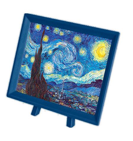 Puzzle 150 MINI – Piezas de Plástico – Noche Estrellada, Van Gogh
