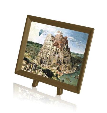Puzzle 150 MINI – Piezas de Plástico – Torre de Babel, Brueghel