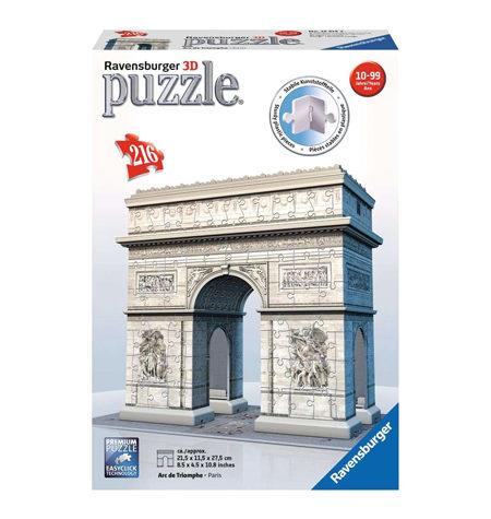Puzzle 3D – 216 Arco del Triunfo, París