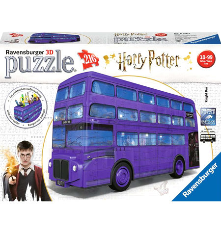 Puzzle 3D – 216 Autobús Noctámbulo, Harry Potter