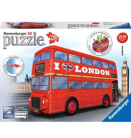 Puzzle 3D – 216 Autobús Londinense