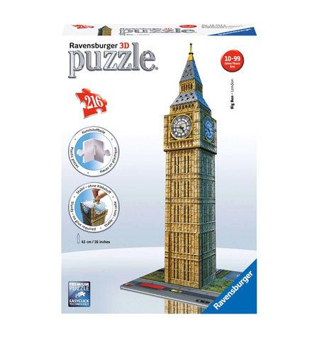 Puzzle 3D – 216 Big Ben, Londres