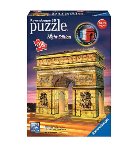 Puzzle 3D LUZ – 216 Arco del Triunfo, París