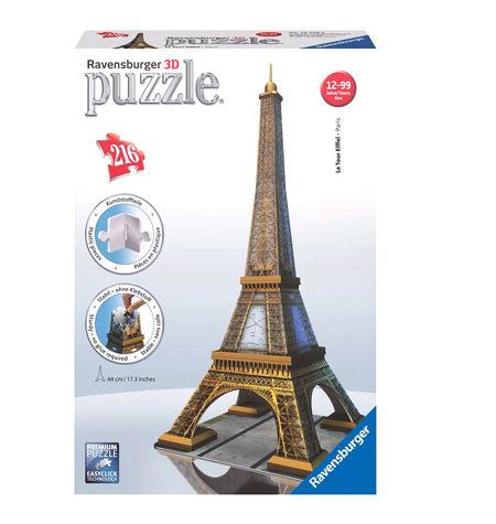 Puzzle 3D – 216  Torre Eiffel, Paris