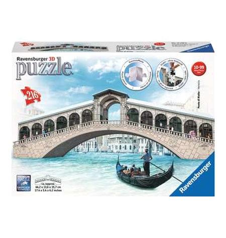 Puzzle 3D – 216  Puente Rialto, Venecia