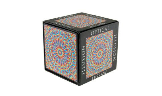 Puzzle 100 Ilusión Óptica de Colores
