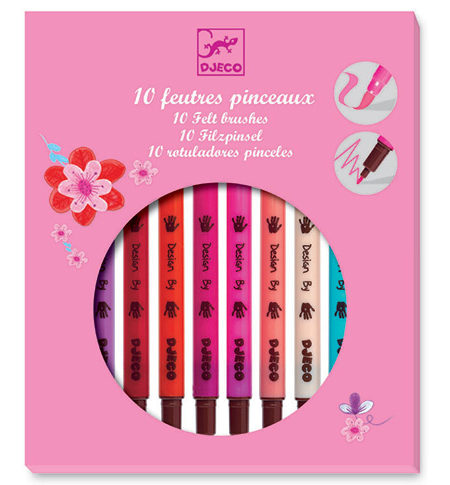 Rotuladores Pincel – Caja Rosa