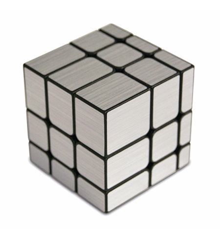 Cubo de Rubik Magic Cube – Mirror Plata