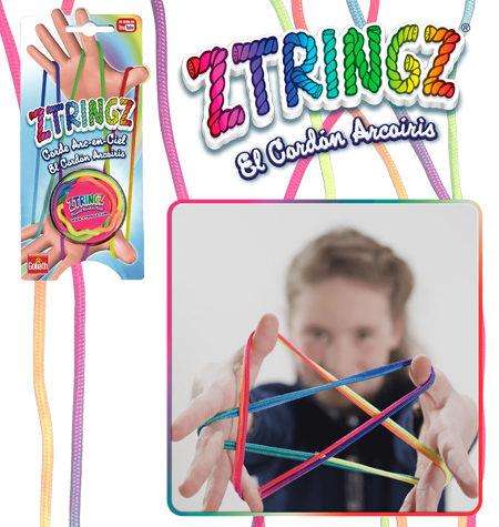 Ztringz – Cuerda de colores Arcoiris