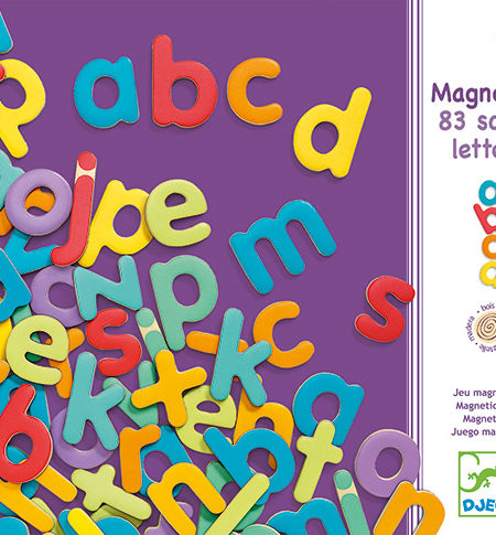 Magnetics Letras Minúsculas