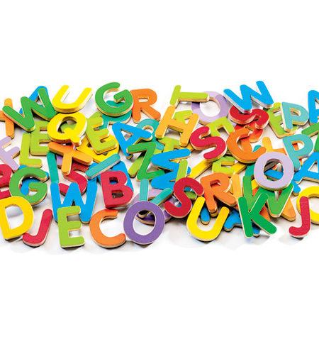 Magnetics Letras Mayúsculas