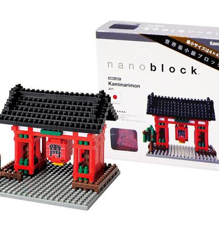 Nanoblock – Puerta de Kaminarimon