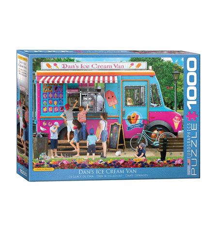 Puzzle 1000 Dan el heladero