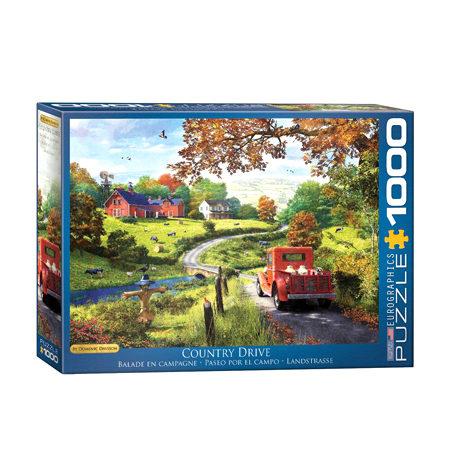 Puzzle 1000 Paseo por el Campo