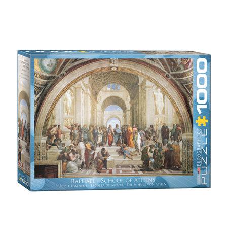 Puzzle 1000 Rafael – Escuela de Atenas