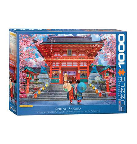 Puzzle 1000 Sakura en Primavera