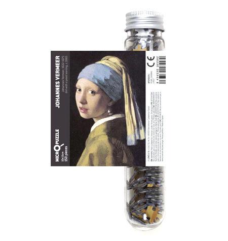 Puzzle 150 MINI – Tubo – Dama de la Perla, Vermeer