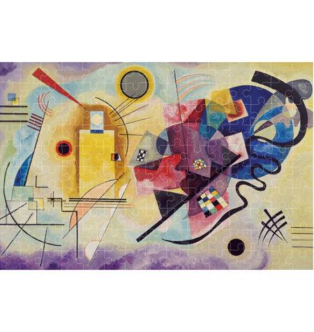 Puzzle 150 MINI – Tubo – Amarillo, rojo, azul, Kandinsky