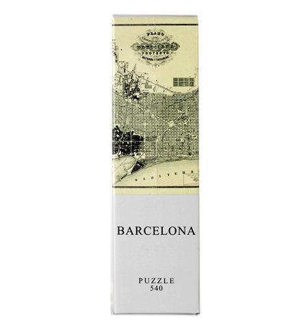 Puzzle 540 Mapa Antiguo de Barcelona