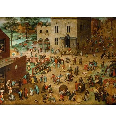 Puzzle 200 Madera – Juego de niños, Brueghel