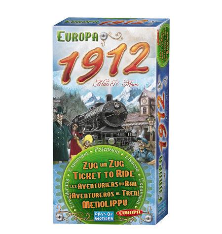Aventureros al Tren Europa Expansión