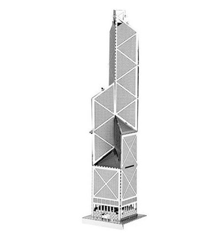 Metal Model Bank of China Tower Hong Kong