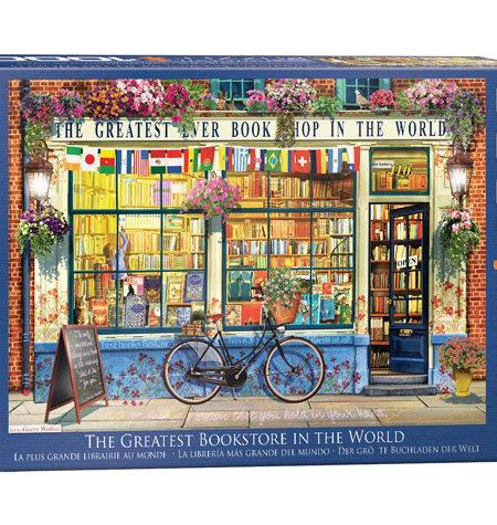 Puzzle 1000 -Tienda de Libros – The Greater BookStore