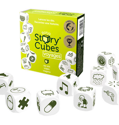 Story Cubes – Dados para crear historias – Viajes